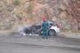 Ավտոմեքենա է այրվել /տեսանյութ/