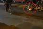 Ոստիկանը հեծանիվով անցել է ցուցարարի գլխի վրայով /տեսանյութ/