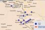 Քարտեզում նշված գյուղերի ուղղությամբ դիվերսիոն խմբերի դեմ պայքարը շարունակվում է