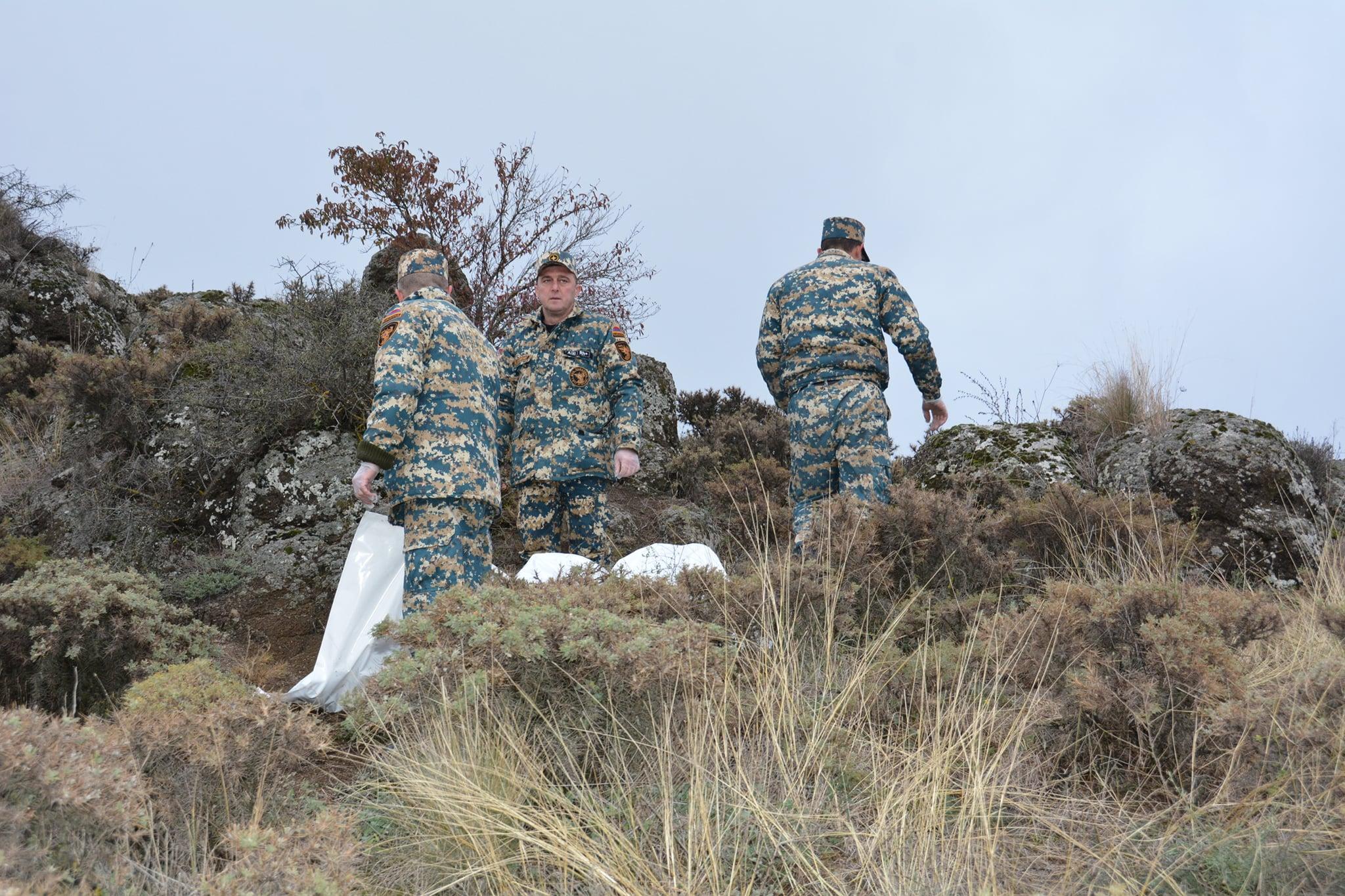 Տեղի է ունեցել զոհված զինծառայողների մարմինների փոխանակում. ՊՆ