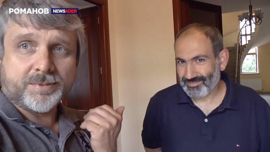 Տեսանյութ.Փաշինյանի ու նրա թիմի կողմի բոլոր գործողությունները լուսաբանած բլոգեր Ալեքսեյ Ռոմանովն իրականում ադրբեջանական քարոզիչ էMediaport