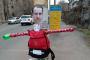 «Իմ քայլի» պատգամավոր Հայկ Սարգսյանի տան հարակից խաչմերուկում տեղադրել են նրա խրտվիլակը /լուսանկար/