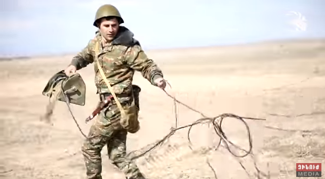 Տեսանյութ.Զորավարժություններ՝ մարտական հսկաների ներգրավմամբ. Սմերչ համակարգերը խոցել են թիրախները