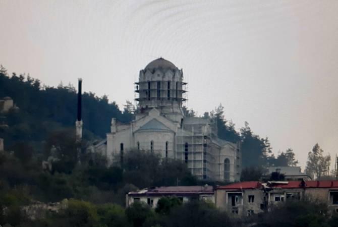 Շուշիի  Սուրբ Ամենափրկիչ Ղազանչեցոց մայր տաճարը կվերածվի մզկիթի,  կվերածվի «Գորշ գայլերի» հոգևոր կենտրոնի