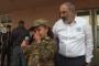 Պատերազմում զոհված հերոսի դուստրը չկարողացավ զսպել արցունքներն արտասանելիս /Տեսանյութ/